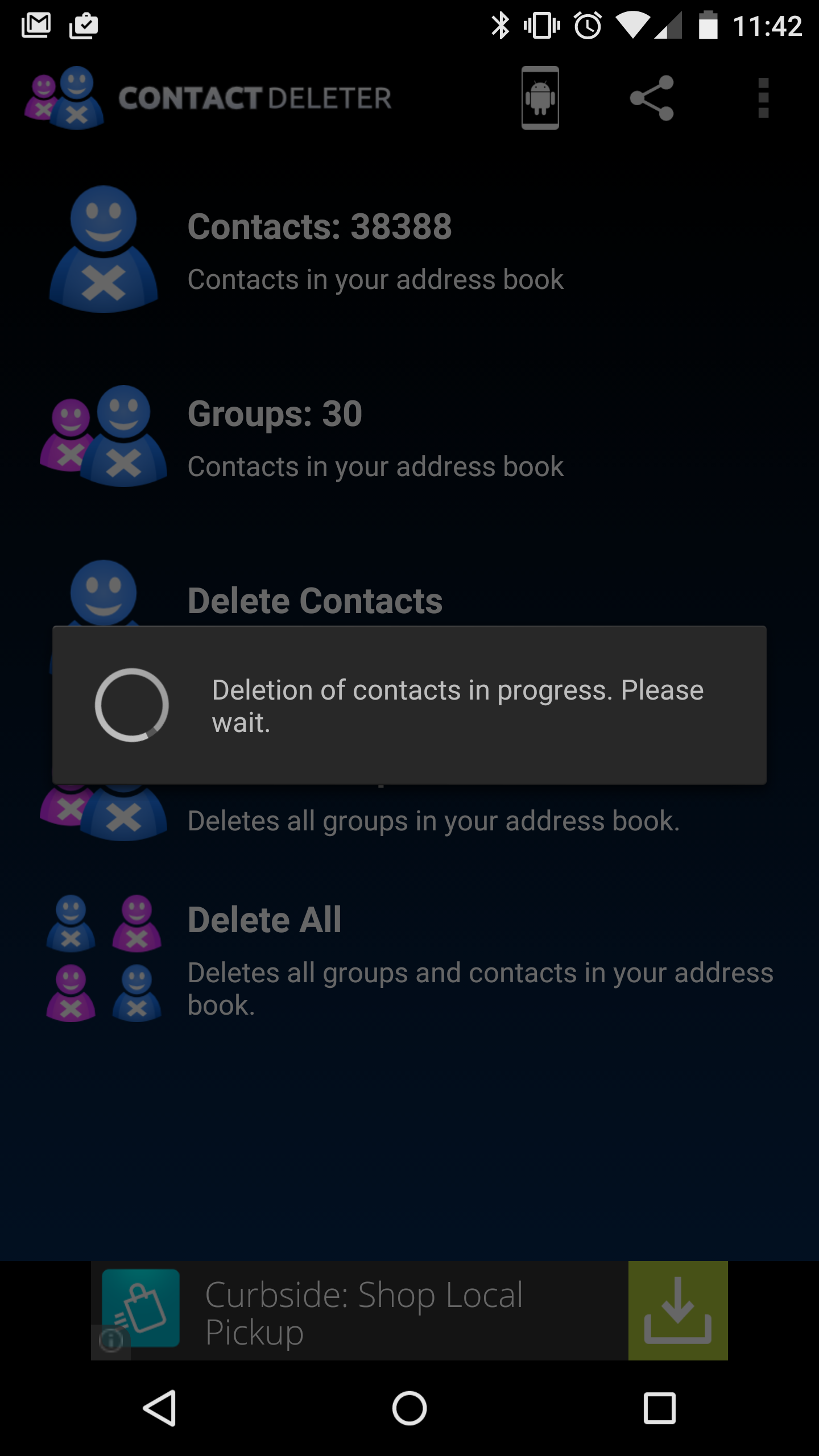 Removing Mistakenly Synced Contacts on Android
