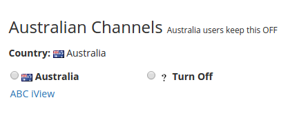 Watching ABC's iView from outside Australia without a VPN